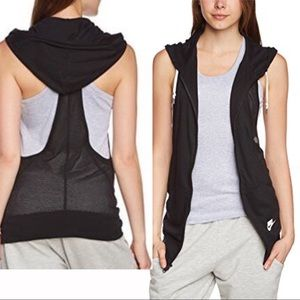 Nike Three-D Sleeveless Mesh racerback vest hoodie